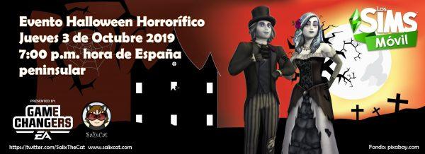 3 de Octubre 2019 – Evento Halloween horrorífico