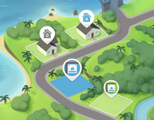 Nuevos precios de habitaciones y expansiones de terreno a partir de la actualización del Vecindario en Los Sims Móvil