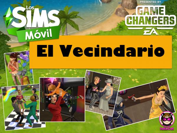 El Vecindario – Nueva función en Los Sims Móvil