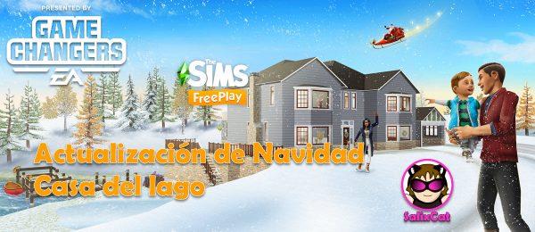Los Sims FreePlay – Diciembre 2019 – Actualización de Navidad – Casa del lago