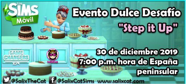 30 de Diciembre 2019 – Evento Dulce Desafío «Step it up»