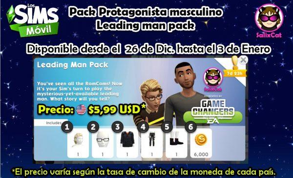 Nuevo pack – Protagonista