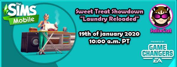 19th of January 2020 – Sweet Treat Showdown «Laundry reloaded»