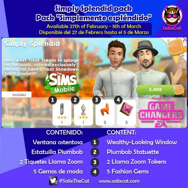 Grand Mansion STS Packs – Packs del evento Mansión Grandiosa