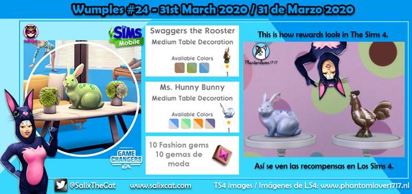 31 de Marzo 2020 – Wumples wishlist #24 – Lista de deseos de Wumples