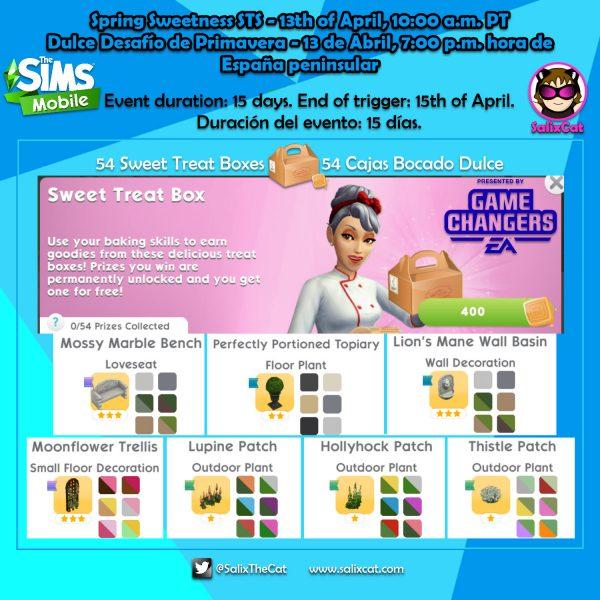 13 de Abril 2020 – «Spring Sweetness STS» – Dulce Desafío de Primavera
