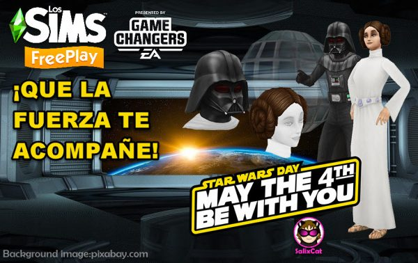 TSFP – 4 de mayo 2020 -Paquete gratuito de trajes de La Guerra de las Galaxias