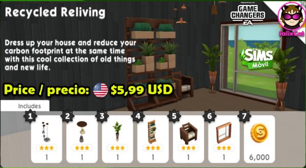 15 de junio 2020 – Recycled Reliving Pack – Reciclaje Redondo