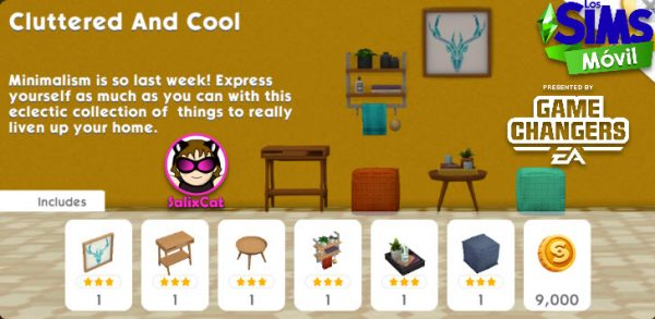 7 de julio 2020 – Cluttered and Cool Pack – Pack Desorden genial