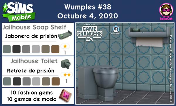 4 de octubre 2020 – Wumples wishlist #38 – Lista de deseos de Wumples