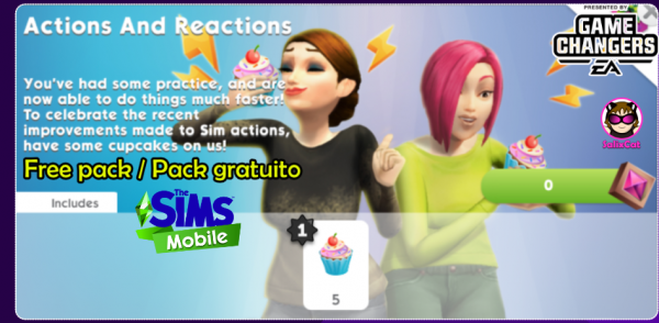 26th of October 2020 – Actions and Reactions Free pack – Pack gratuito