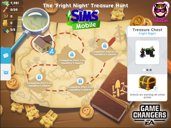 26th of October 2020 – Fright Night Treasure Hunt – Búsqueda del Tesoro 'Noche de sustos'