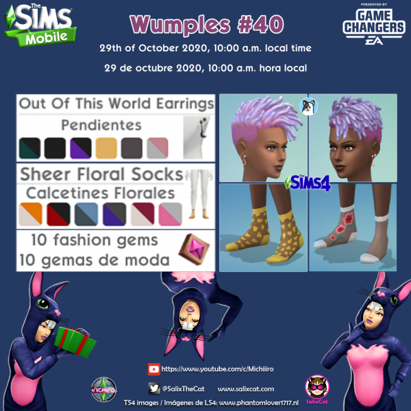 29th of October 2020 – Wumples wishlist #40 – La lista de deseos de Wumples
