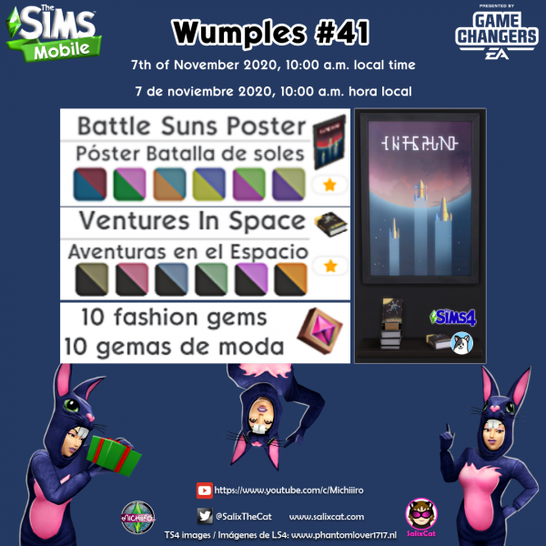 7th of November 2020 – Wumples wishlist #41 – Lista de deseos de Wumples