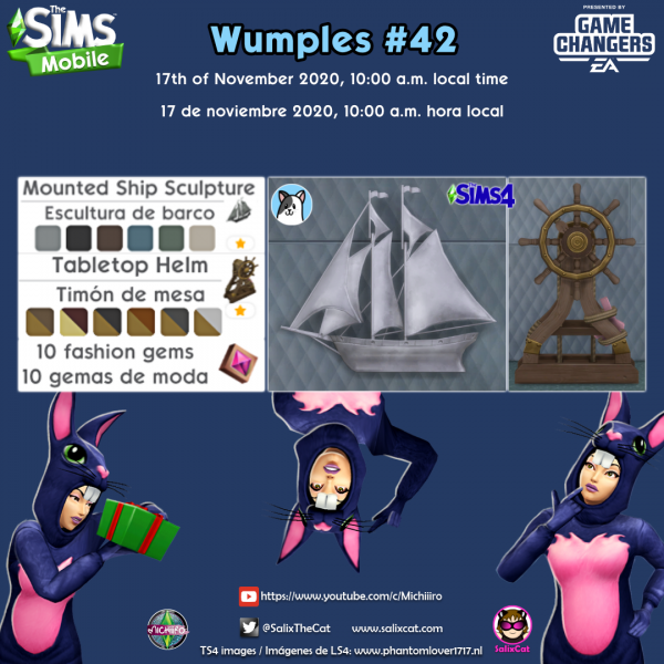 17th of November 2020 – Wumples wishlist #42 – Lista de deseos de Wumples