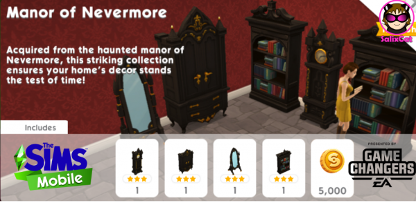 19th of November 2020 – Manor of Nevermore Pack (rerun) – Mansión de Nunca Jamás