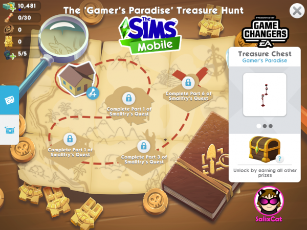 28th of November 2020 – Gamer's Paradise Treasure Hunt – Búsqueda de tesoros 'Paraíso Gamer'