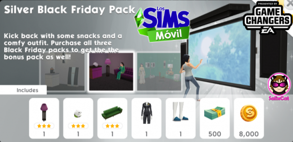 25th of November 2020 – Silver Black Friday Pack – Pack de plata