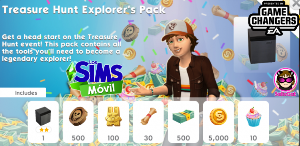 28th of November 2020 – Treasure Hunt Explorer's Pack – Exploradores Buscatesoros