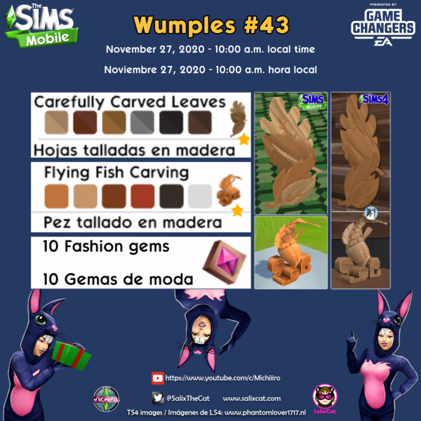 27th of November 2020 – Wumples wishlist #43 – Lista de deseos de Wumples
