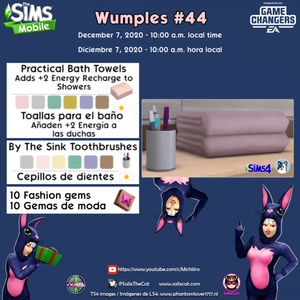 7th of December 2020 – Wumples wishlist #44 – – Lista de deseos de Wumples
