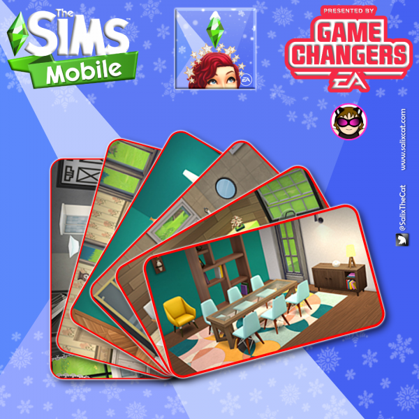 14th of December 2020 – The Sims Mobile – New Base Game Items and Collections