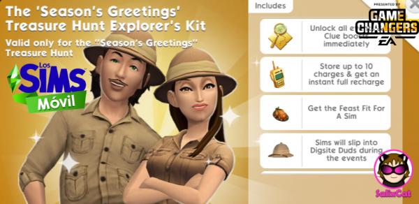 14th of December 2020 – Season's greetings TH Explorer's Kit – Equipo para Exploradores buscatesoros de Navidad