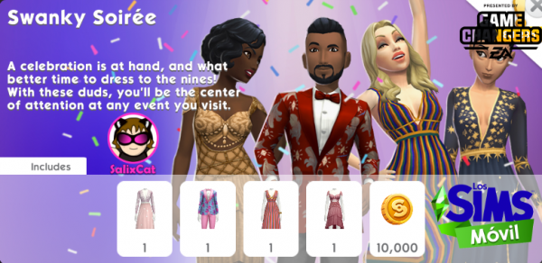 28th of December 2020 – Swanky Soirée Pack – Velada Elegante
