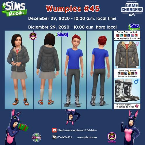 29th of December 2020 – Wumples wishlist #45 – Lista de deseos de Wumples