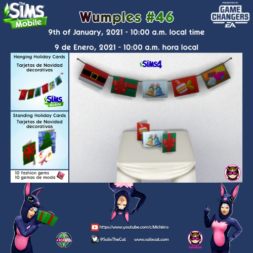 9th of January 2021 – Wumples wishlist #46