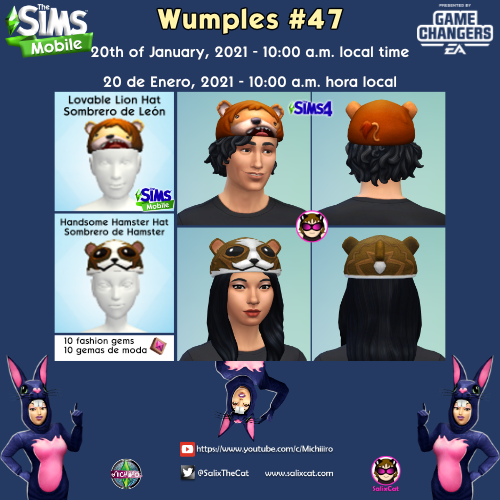 20th of January 2021 – Wumples wishlist #47