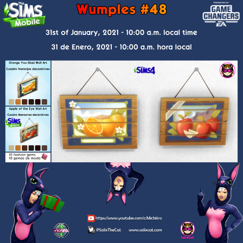 31st of January 2021 – Wumples wishlist #48
