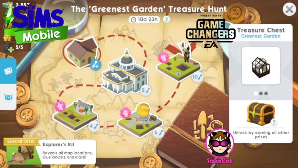 8th of March 2021 – 'The Greenest Garden' TH – Búsqueda de Tesoros 'El jardín más verde'