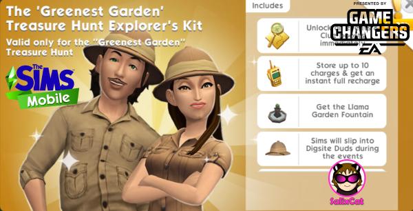 8th of March 2021 – The Greenest Garden TH Explorer's Kit – Pack de Exploradores Buscatesoros 'El jardín más verde'