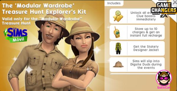 1st of June 2021 – Modular Wardrobe Treasure Hunt Kit