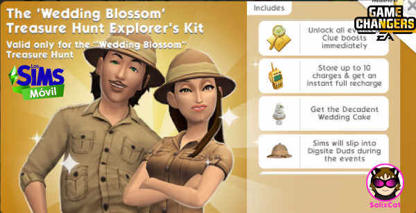 20th of April 2021 – Wedding Blossom Treasure Hunt Kit