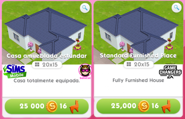 15th of June 2021 – Standard Furnished Place House Template