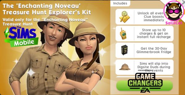 15th of June 2021 – Enchanting Nouveau Treasure Hunt Kit